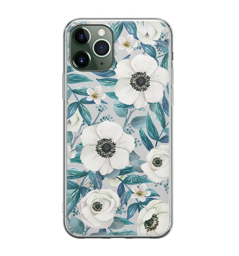 iPhone 11 Pro siliconen hoesje - Vlinders
