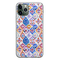 iPhone 11 Pro siliconen hoesje - Boho vibe
