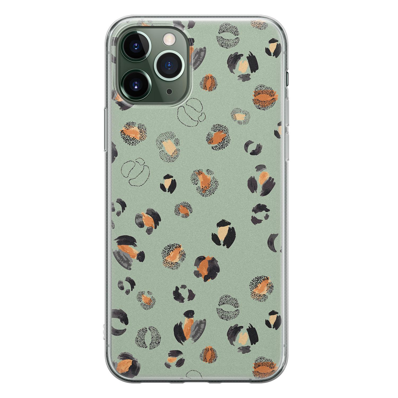 iPhone 11 Pro siliconen hoesje - Baby leo