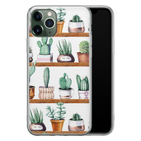 iPhone 11 Pro siliconen hoesje - Cactus