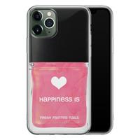 iPhone 11 Pro siliconen hoesje - Nagellak