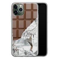 iPhone 11 Pro siliconen hoesje - Chocoladereep