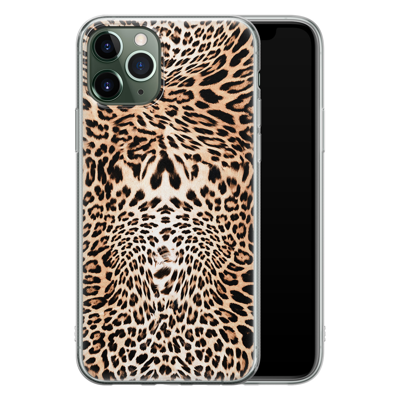 iPhone 11 Pro siliconen hoesje - Wild animal