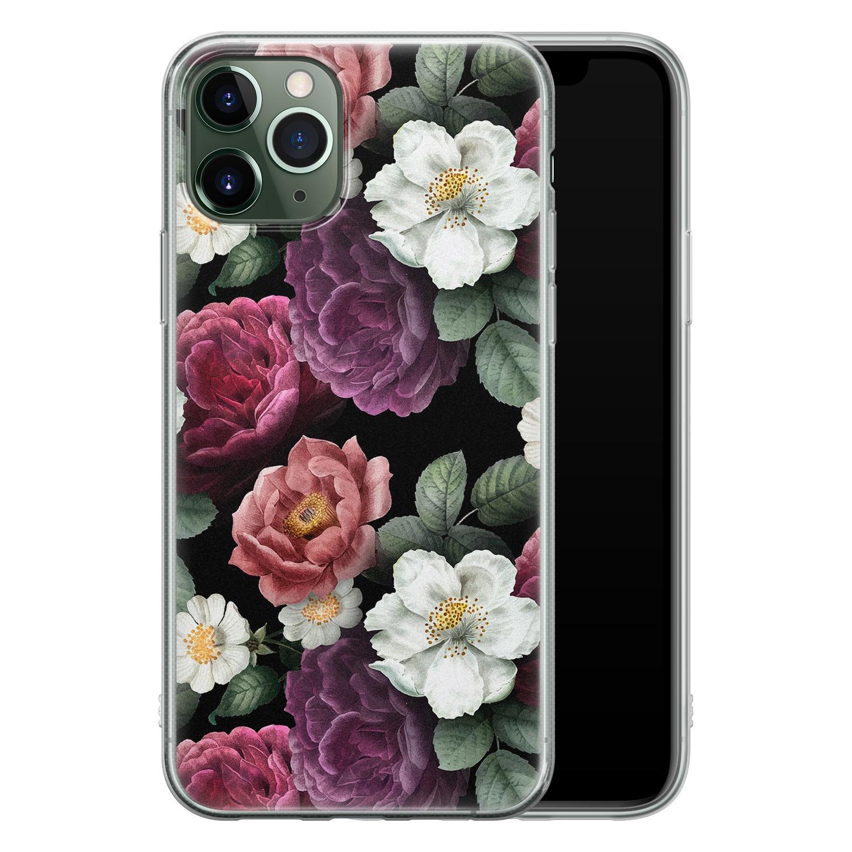 iPhone 11 Pro siliconen hoesje - Bloemenliefde