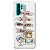 Huawei P30 Pro siliconen hoesje - Where to go next