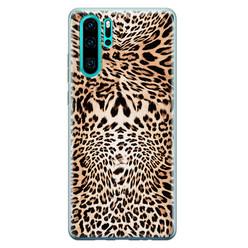 Leuke Telefoonhoesjes Huawei P30 Pro siliconen hoesje - Wild animal