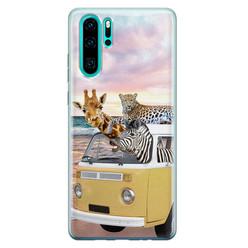 Leuke Telefoonhoesjes Huawei P30 Pro siliconen hoesje - Wanderlust