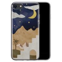 iPhone 8/7 siliconen hoesje - Desert night
