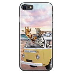 Leuke Telefoonhoesjes iPhone 8/7 siliconen hoesje - Wanderlust