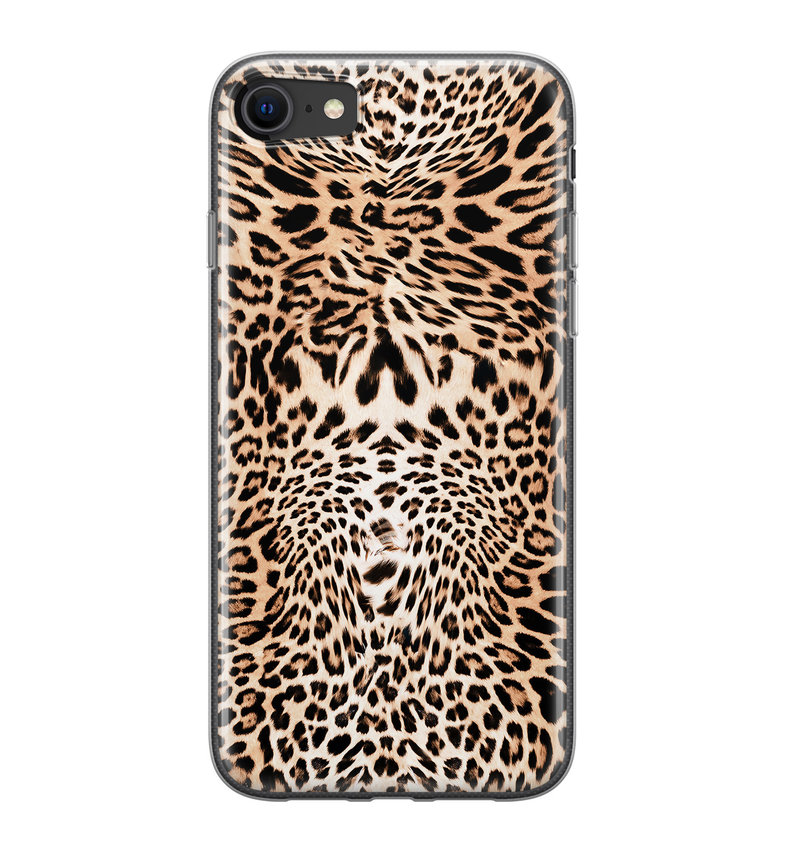 iPhone 8/7 siliconen hoesje - Wild animal