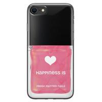 iPhone 8/7 siliconen hoesje - Nagellak