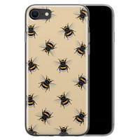 iPhone 8/7 siliconen hoesje - Bee happy