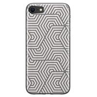 iPhone 8/7 siliconen hoesje - Geometrisch