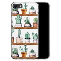 iPhone 8/7 siliconen hoesje - Cactus