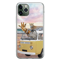 Leuke Telefoonhoesjes iPhone 11 Pro Max siliconen hoesje - Wanderlust