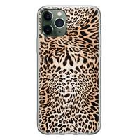 iPhone 11 Pro Max siliconen hoesje - Wild animal