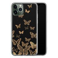 iPhone 11 Pro Max siliconen hoesje - Vlinders