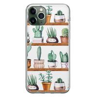 iPhone 11 Pro Max siliconen hoesje - Cactus