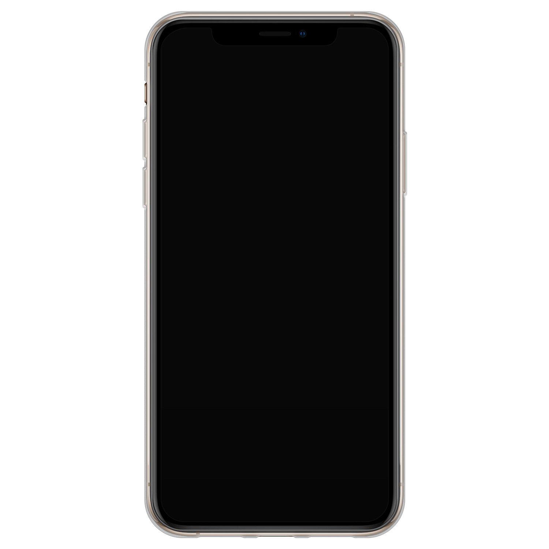iPhone XS Max siliconen hoesje - Grachtenpandjes