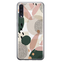 Samsung Galaxy A70 siliconen hoesje - Abstract print