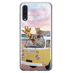 Leuke Telefoonhoesjes Samsung Galaxy A70 siliconen hoesje - Wanderlust