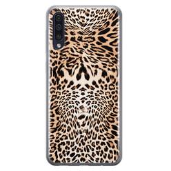 Leuke Telefoonhoesjes Samsung Galaxy A70 siliconen hoesje - Wild animal