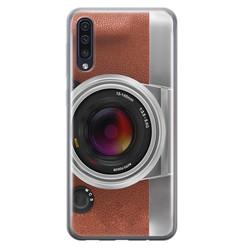 Leuke Telefoonhoesjes Samsung Galaxy A70 siliconen hoesje - Vintage camera