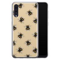Samsung Galaxy A70 siliconen hoesje - Bee happy
