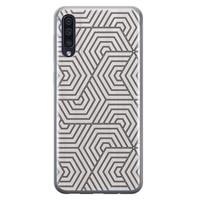Samsung Galaxy A70 siliconen hoesje - Geometrisch