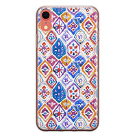 iPhone XR siliconen hoesje - Boho vibe