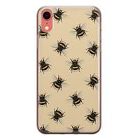 iPhone XR siliconen hoesje - Bee happy
