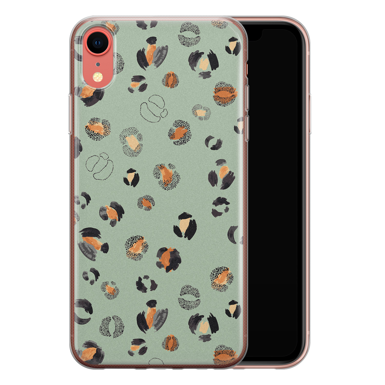 iPhone XR siliconen hoesje - Baby leo