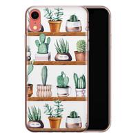 iPhone XR siliconen hoesje - Cactus
