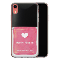 iPhone XR siliconen hoesje - Nagellak