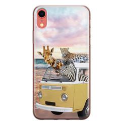 Leuke Telefoonhoesjes iPhone XR siliconen hoesje - Wanderlust