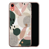 iPhone XR siliconen hoesje - Abstract print