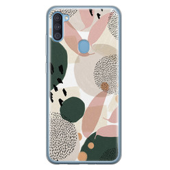 Samsung Galaxy A11 siliconen hoesje - Abstract print