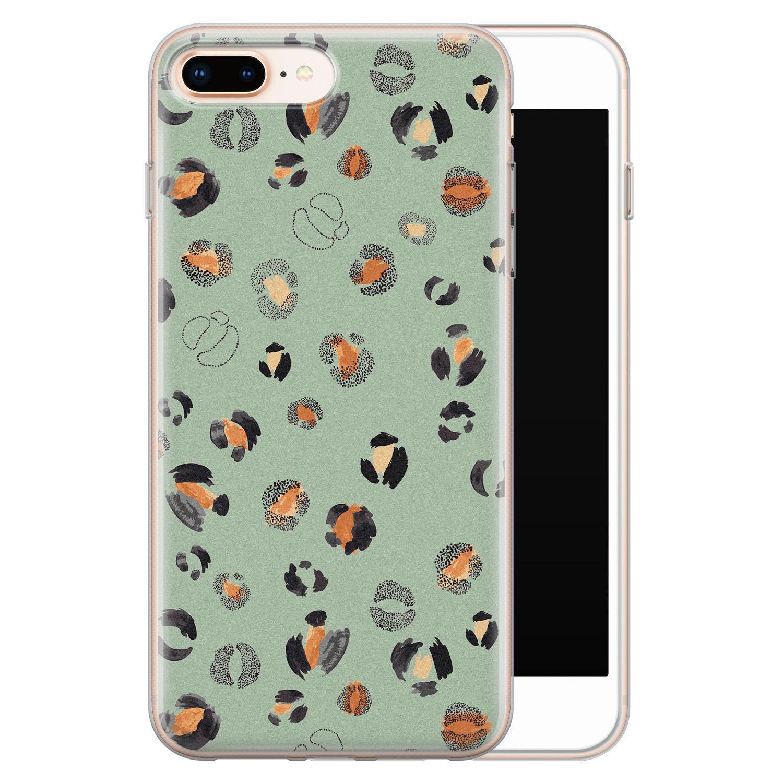 iPhone 8 Plus/7 Plus siliconen hoesje - Baby leo