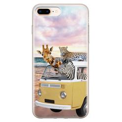Leuke Telefoonhoesjes iPhone 8 Plus/7 Plus siliconen hoesje - Wanderlust