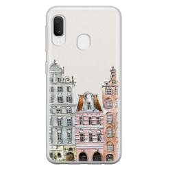 Leuke Telefoonhoesjes Samsung Galaxy A20e siliconen hoesje - Grachtenpandjes