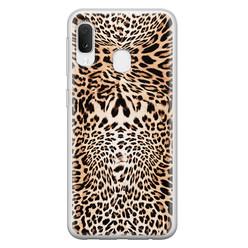 Leuke Telefoonhoesjes Samsung Galaxy A20e siliconen hoesje - Wild animal