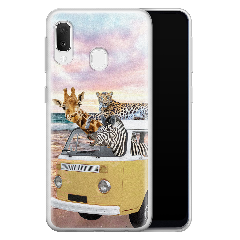 Samsung Galaxy A20e siliconen hoesje - Wanderlust