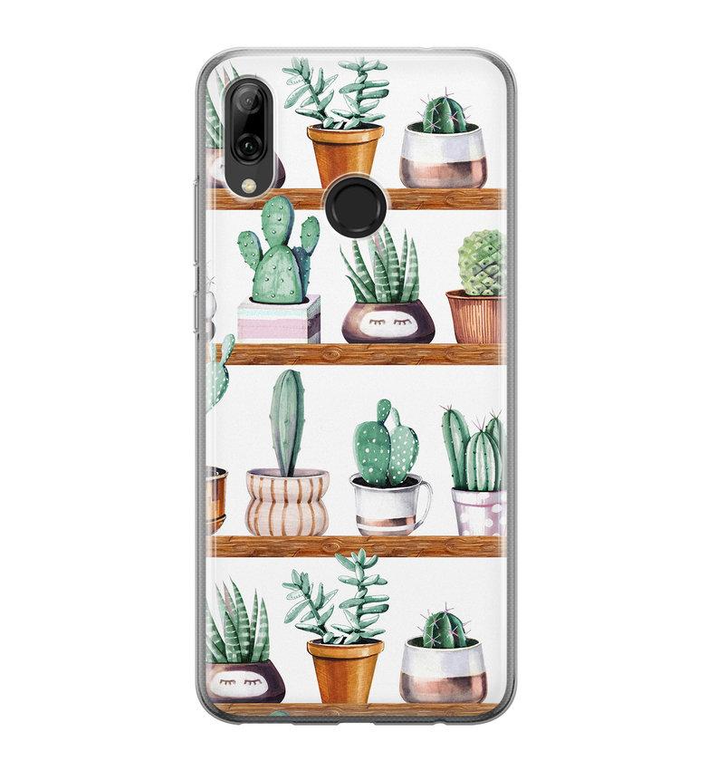 Huawei P Smart 2019 siliconen hoesje - Cactus