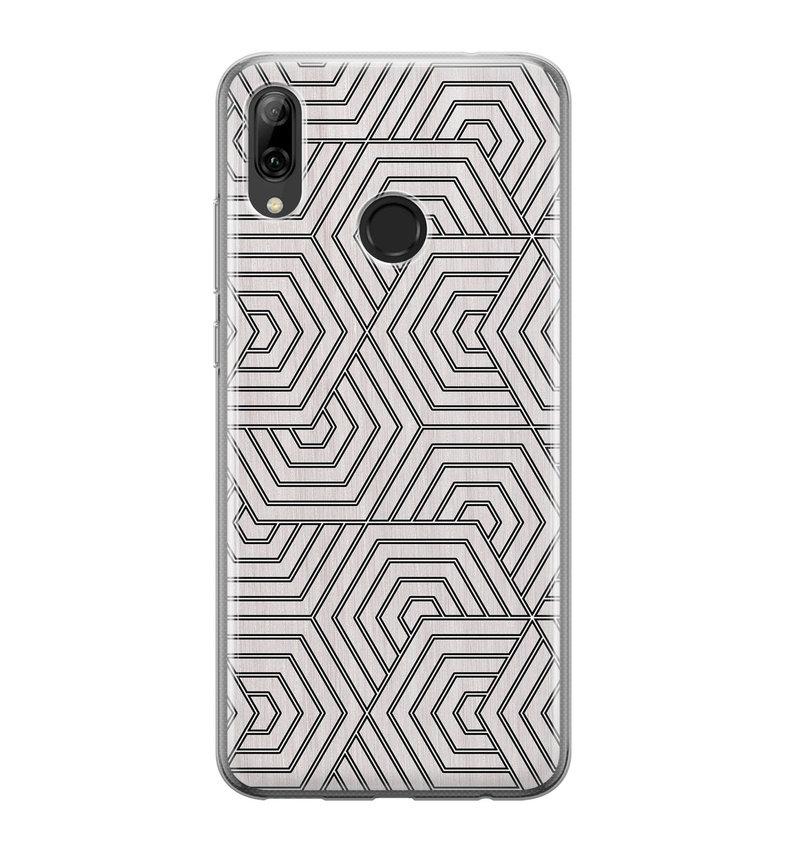 Huawei P Smart 2019 siliconen hoesje - Geometrisch