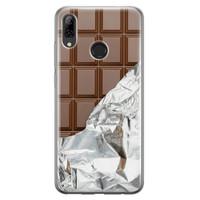 Huawei P Smart 2019 siliconen hoesje - Chocoladereep