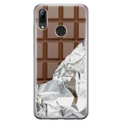 Leuke Telefoonhoesjes Huawei P Smart 2019 siliconen hoesje - Chocoladereep