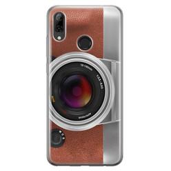 Leuke Telefoonhoesjes Huawei P Smart 2019 siliconen hoesje - Vintage camera