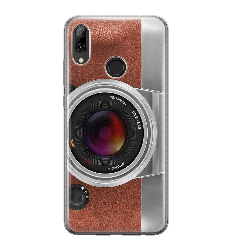 Huawei P Smart 2019 siliconen hoesje - Vintage camera