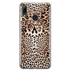 Leuke Telefoonhoesjes Huawei P Smart 2019 siliconen hoesje - Wild animal
