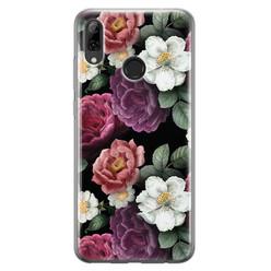 Leuke Telefoonhoesjes Huawei P Smart 2019 siliconen hoesje - Bloemenliefde